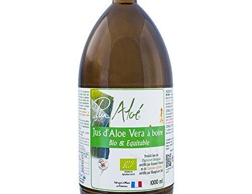 Pur Aloe zumo D 'Aloe Vera Bio & Equitable 1litro