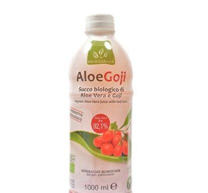Zumo de beber biológico de Aloe Vera y Goji – 1 litro