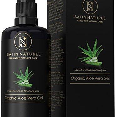 Gel de Aloe Vera Orgánico 200ml 97% Zumo de Aloe Vera