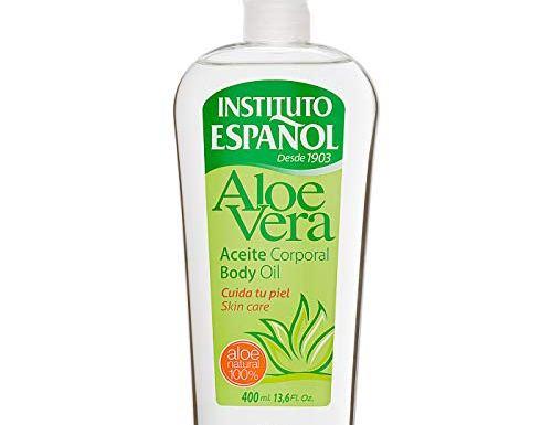 Instituto Español – Aceite Corporal con Aloe Vera, 400 ml