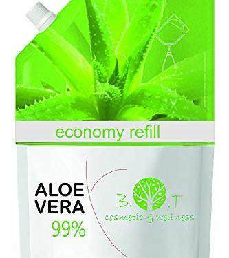 Recarga Ahorro 99% Gel Puro de Aloe Vera 500 ml – recarga económica