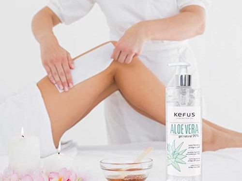 Gel aloe vera natural 99% nutre hidrata y protege tu piel 500ml