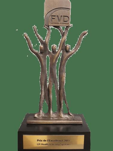 Prix de l'Excellence 2017 de la Fédération de la Vente Directe (FVD)