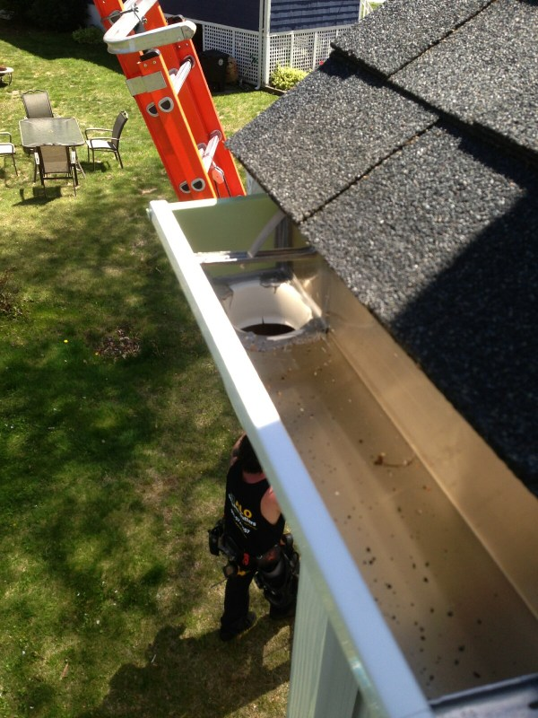 Gutters And Roof Strap Applications Alo Seamless