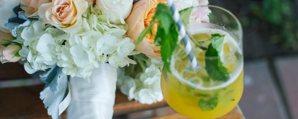 Chris J Evans Photography - Aloha Bars Maui - Pineapple Mojito & Bouquet