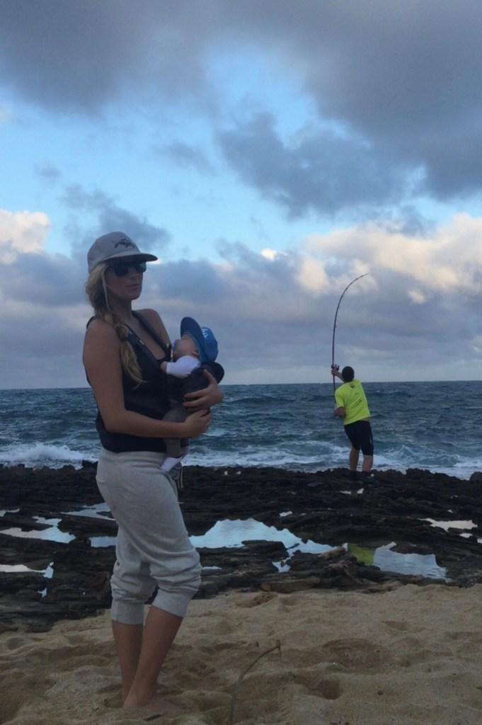 fishing husband