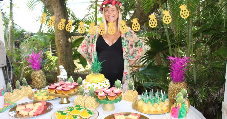 """<span class=""""entry-title-primary"""">Pineapple of Our Eye</span> <span class=""""entry-subtitle"""">Pineapple Baby Shower </span>"""