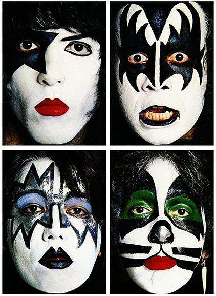 Resultado de imagen de maquillaje de kiss