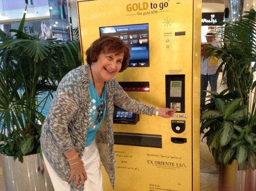 "mom ""using"" the Gold ATM at Marina Mall"