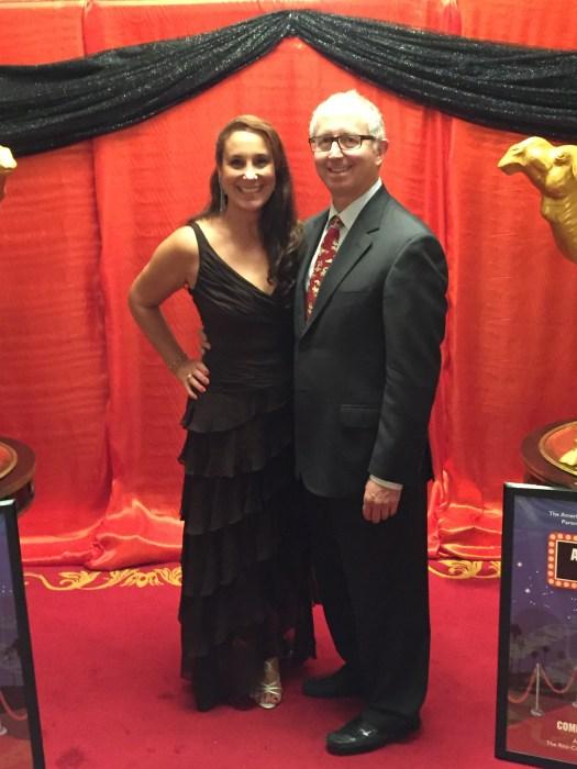 Mark and me at the ACS Gala May 8, 2015