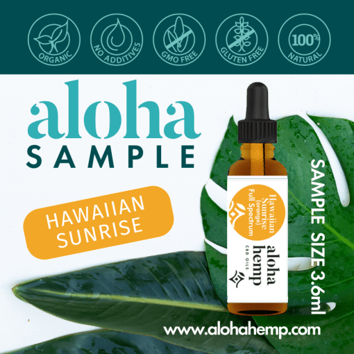 Aloha Hemp Hawaiian Sunrise Sample