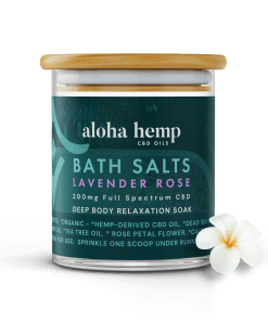 Aloha Hemp CBD Bath Salts