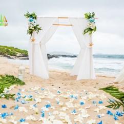 Wedding Chair Covers Hawaii Bedroom Bucket Beach Weddings Custom Designed Alters On Oahu