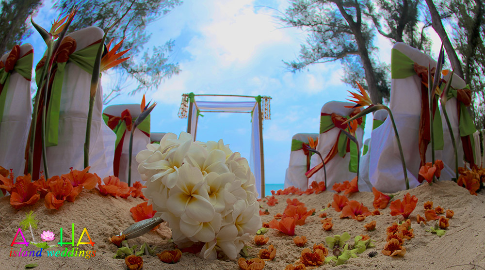 Hawaii Wedding Flowers for the beautiful bouquets