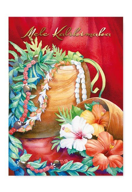 Island Heritage Koa Lei Holiday Deluxe Boxed Christmas