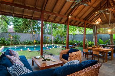 Casa de vacaciones Jimbaran Lujosas villas tropicales