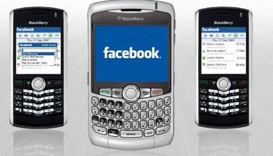 Facebook Mobilke Application
