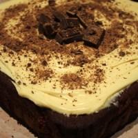 Gâteau au chocolat et au beurre de cacahuète