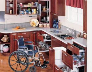Dimensions Kitchen Accessible For Wheelchair Pinterest