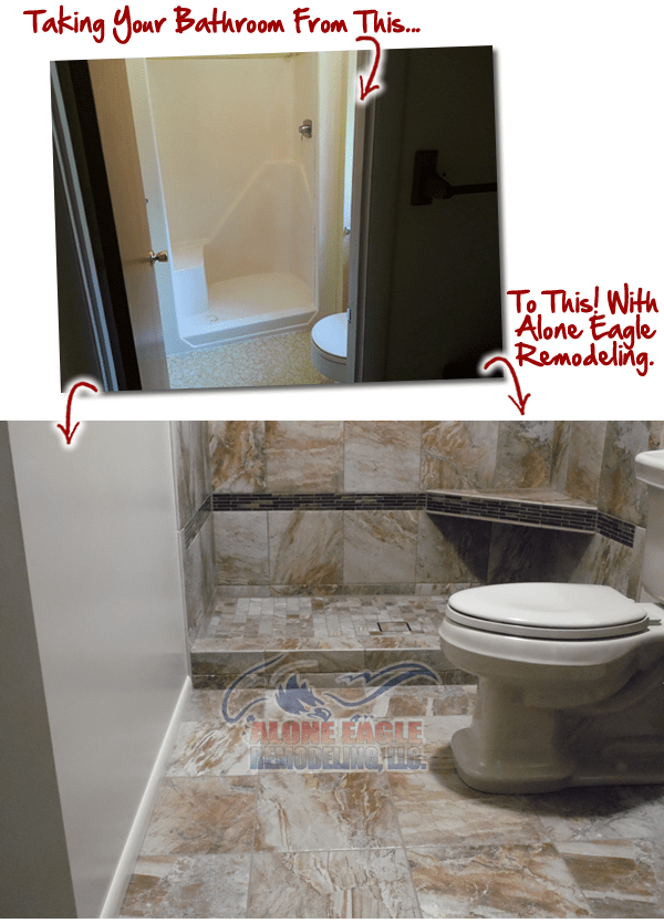 tile shower floor options