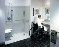 Handicap bathrooms on Pinterest | Handicap Bathroom, Roll ...