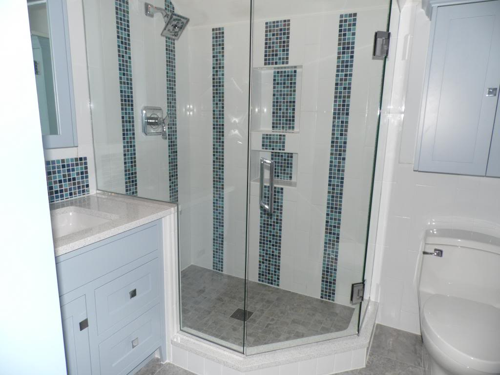 Custom Stone Walk In Shower