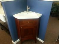 Corner Sink For Small Bathroom. Best Arched Acrylic Corner ...