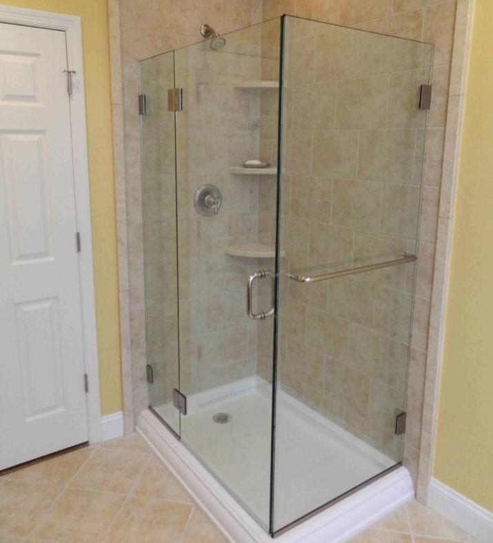 Granite or Marble Shelves with your Custom Tiled Shower