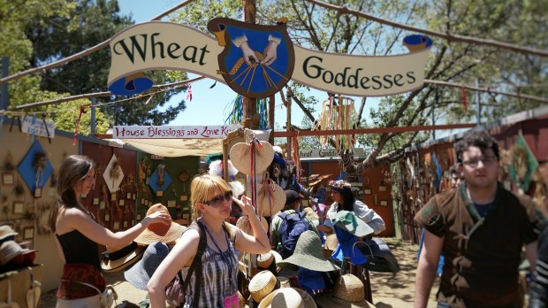 Sadly, I can be anything BUT a Wheat Goddess! Photo: Michael Farah.