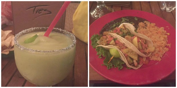 Dinner and drinks at Tres Hombres.