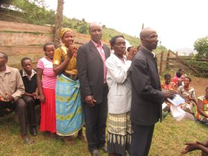 Newly Elected Obumwe Microfinance Association Members in Muko Sub-County