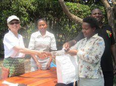 AAU staff Recieve Donation of Dental Materials