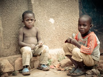 Street Children in Poverty Need Support and Opportunities.