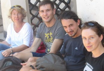 At the Amasiko Home_With Slovenian Buddies