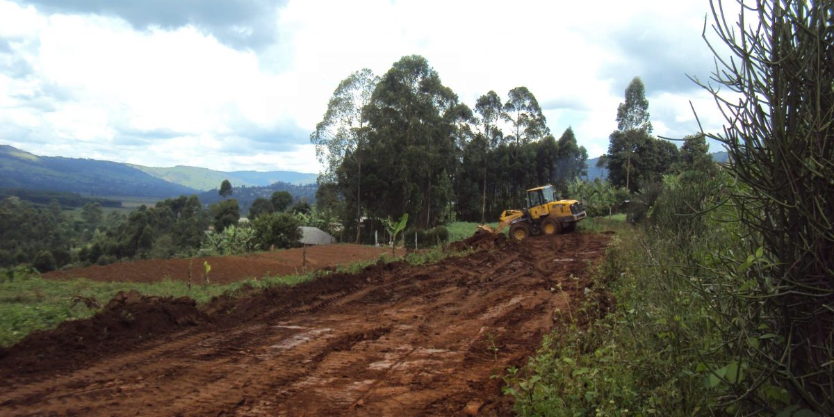 levelling of land