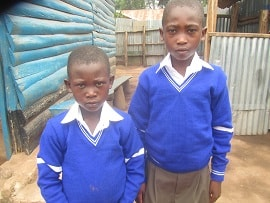 Rescued street children start primary education
