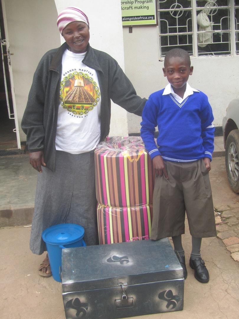 Peter a Steet Child starts boarding school