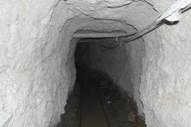 Stollen im Bergwerk