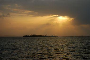 San Blas Sonnenuntergang