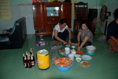 Essensvorbereitungen