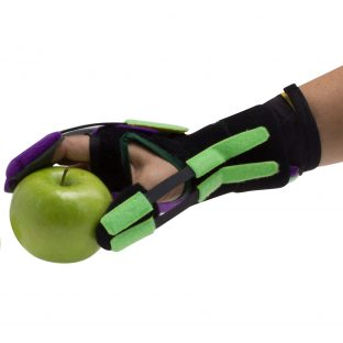 Using the AlonTree Glove for stroke recovery with exercises for fine motor skills