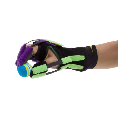 AlonTree Glove for stroke recovery helps with fine motor skills and hand strength