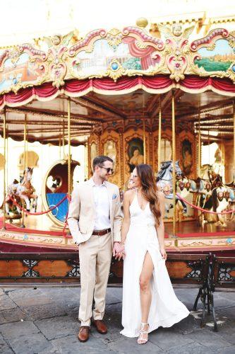 Wedding Wednesday: day before wedding shoot via A Lo Profile.