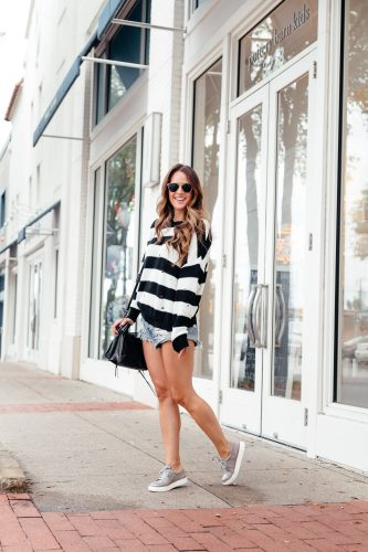 Shorts & Sweaters: My Fav Fall combo via A Lo Profile.