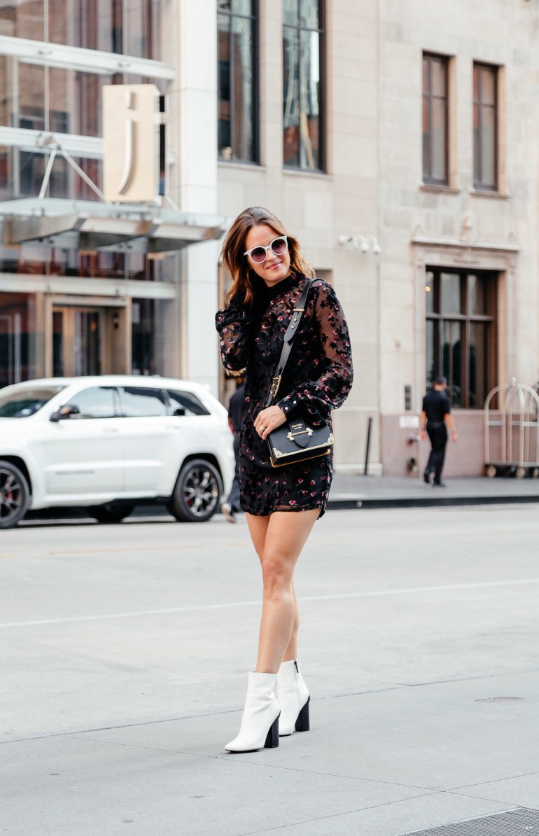 Mini Dresses for Fall via A Lo Profile