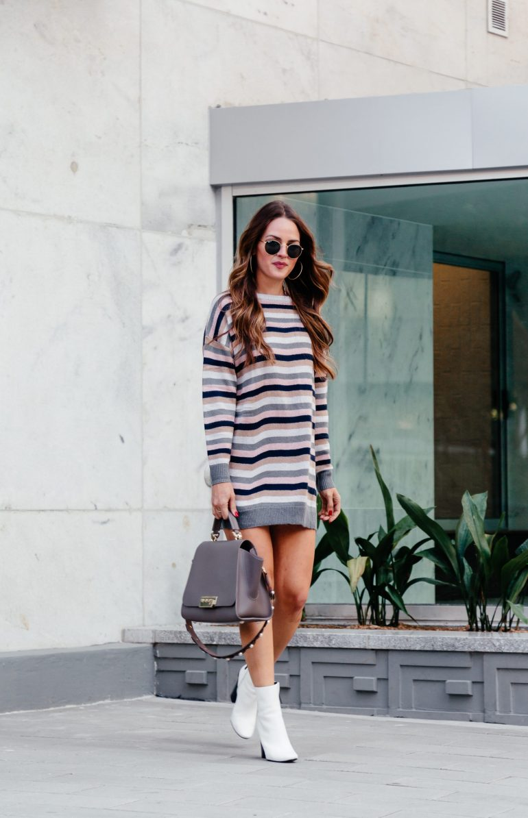 Mini sweater dress + tons of other options via A Lo Profile.