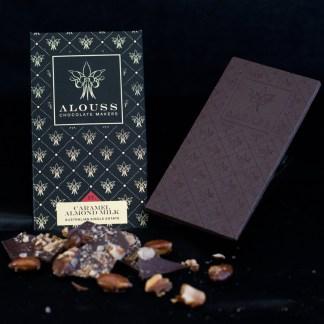 Caramel Almond Milk Chocolate Bar