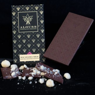 Macadamia Milk Chocolate Bar