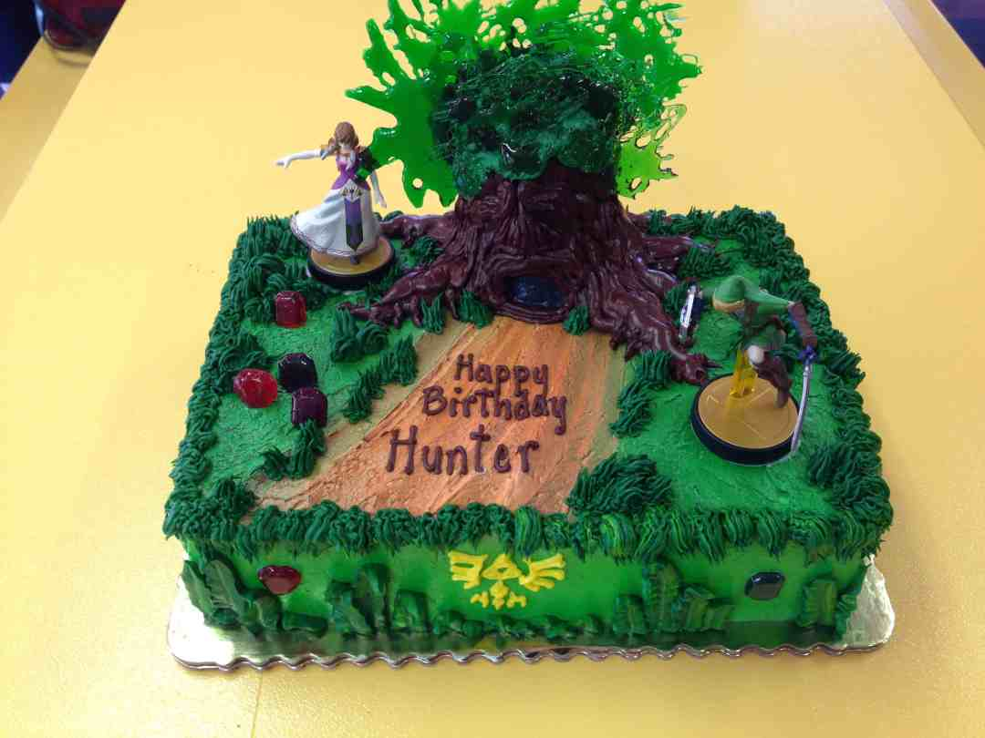 zelda birthday cake