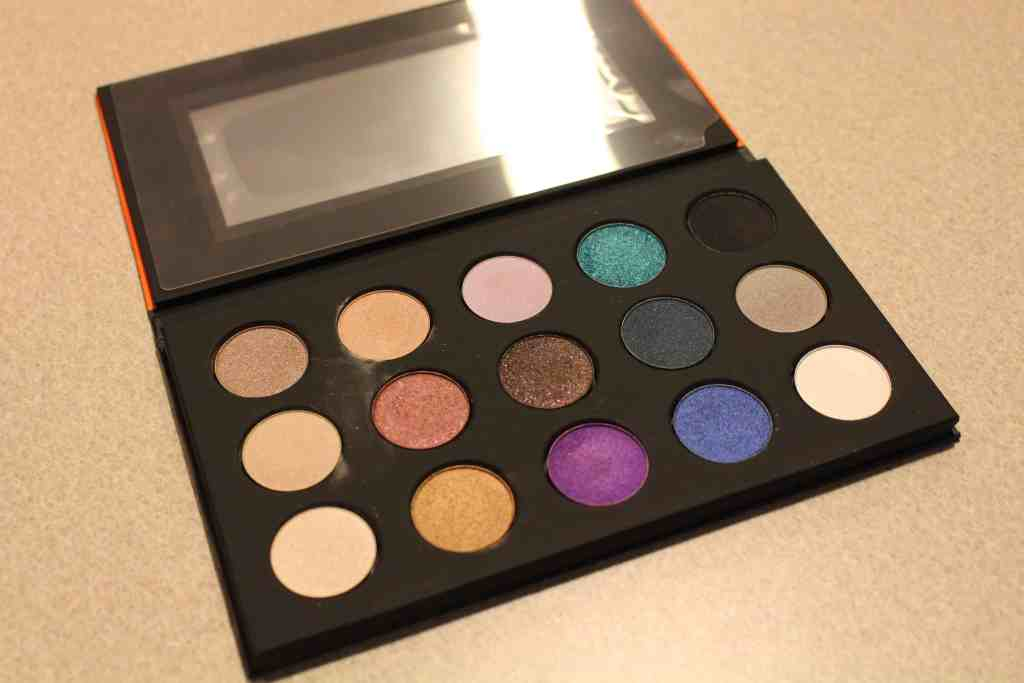 make up for ever artist palette 15 shadow